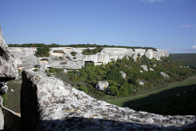 Эски-Кермен, пещерный город, Крым