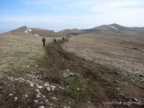 Терке-яйла, Апрельский Крым