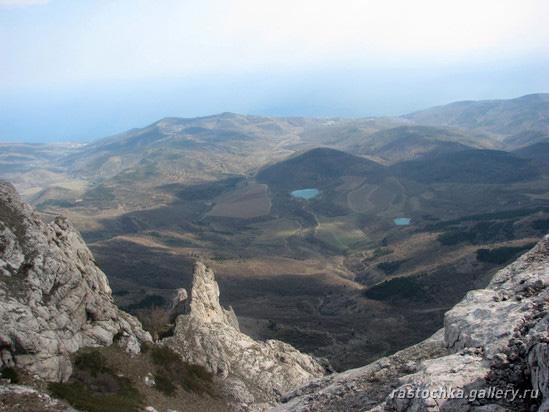 Караби-яйла, Апрельский Крым