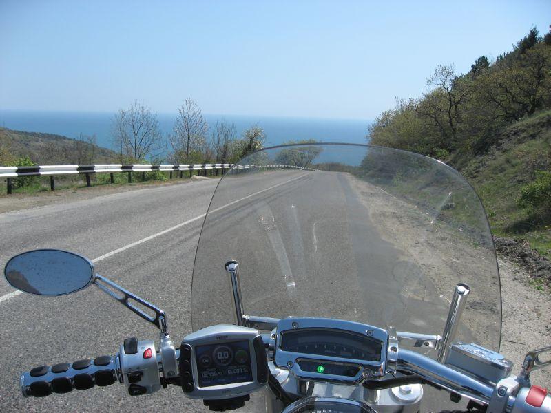 В Ялту на мотоцикле